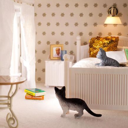 smaland bedroom cats