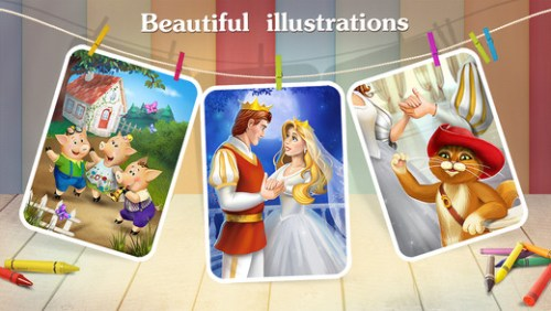 kids academy story book illustrations.