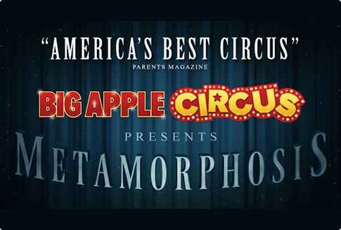 big apple circus metamorphosis, curtain