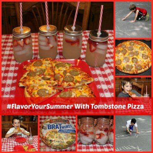 #FlavorYourSummer Tombstone Pizza