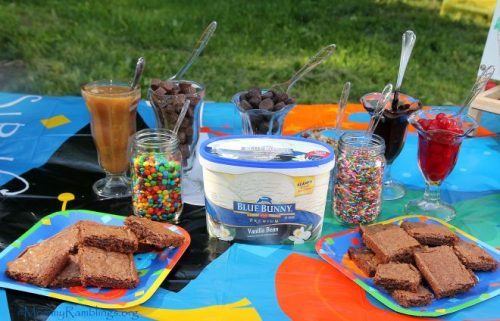 bb ice cream setup