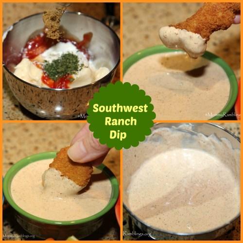 Southwest ranch dip