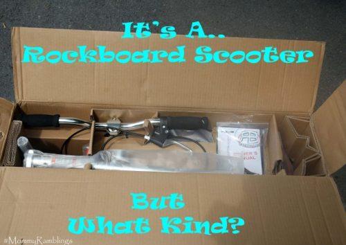 rockboard scooter box open