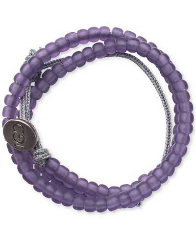 100 Good Deeds Bracelet Purple