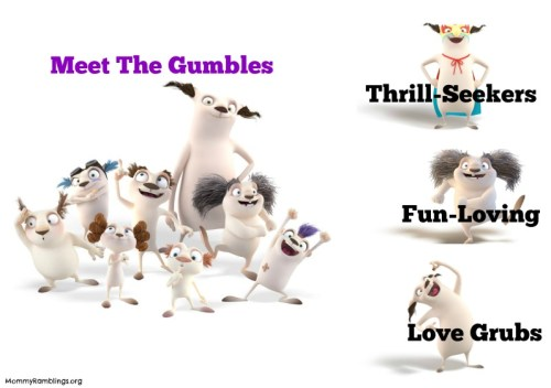 Meet The Gumbles Graphic