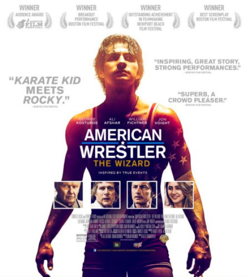Mommy ramblings for families living the dream everything in this weekend we sat down to watch american wrestler the wizard a movie based on the life of ali afshar publicscrutiny Gallery