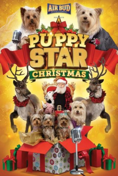 Puppy Star Christmas Movie Poster
