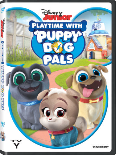 Playtime with Puppy Dog Pals DVD Disney