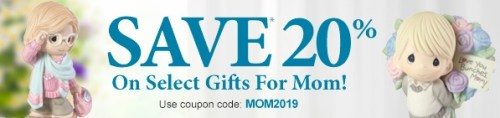 Save 20% Now on Precious Moments