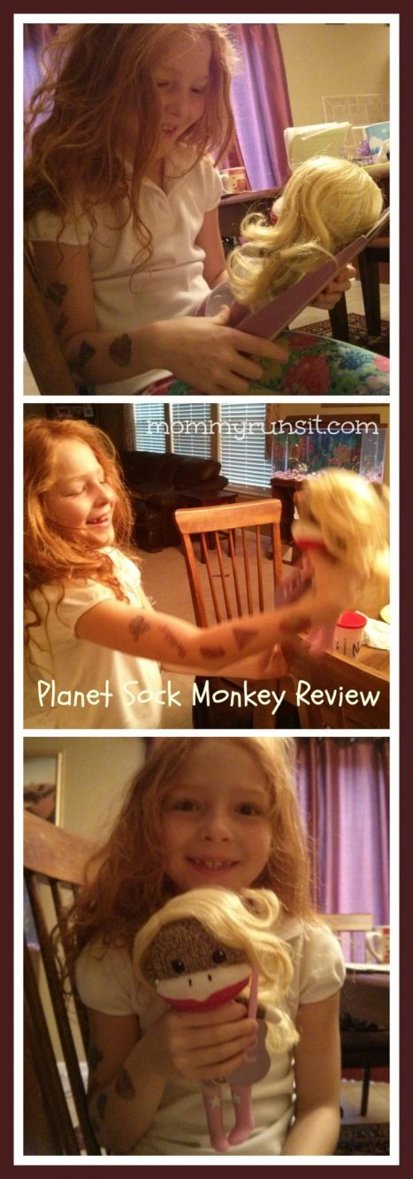 Planet Sock Monkeys: Toy Review & Giveaway | Mommy Runs It