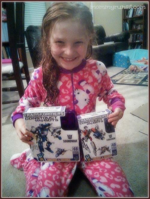 Transformers Construct-Bots | Mommy Runs It