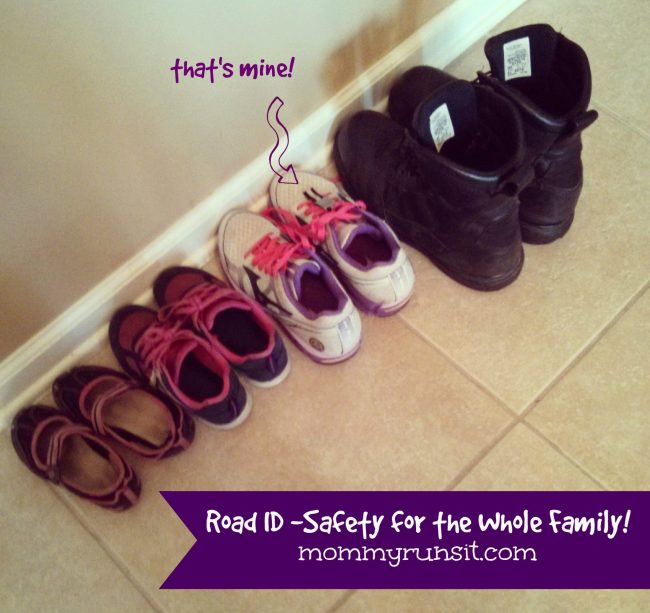 Put Safety First with Road ID | Mommy Runs It