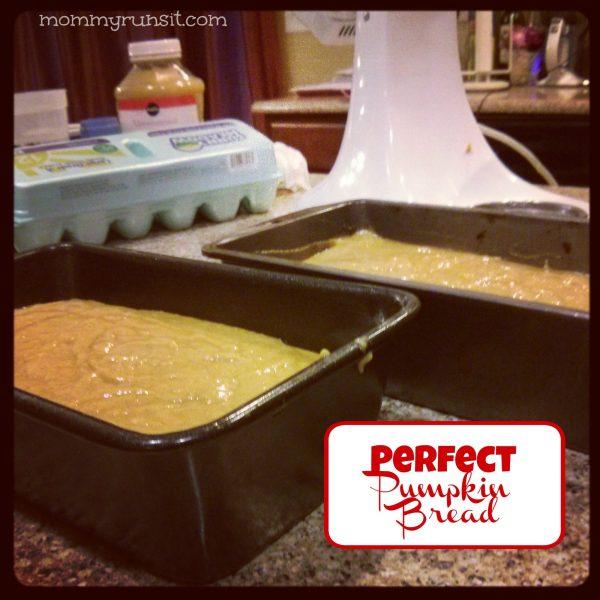 Perfect Pumpkin Bread Recipe   Mommy Runs It #pumpkin #recipe