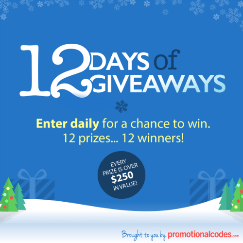 PromotionalCodes.com | 12 Days of Giveaways | Mommy Runs It