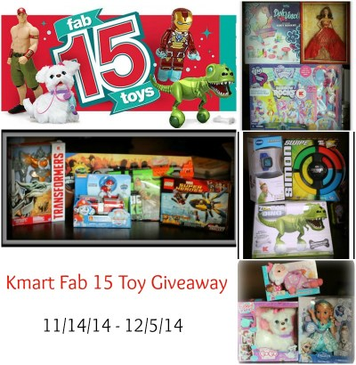 Kmart Fab 15 Giveaway | Mommy Runs It