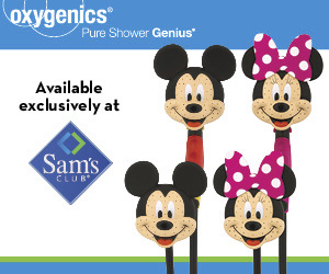 Mickey and Minnie Mouse Shower Heads – Holiday Gift Guide + Giveaway