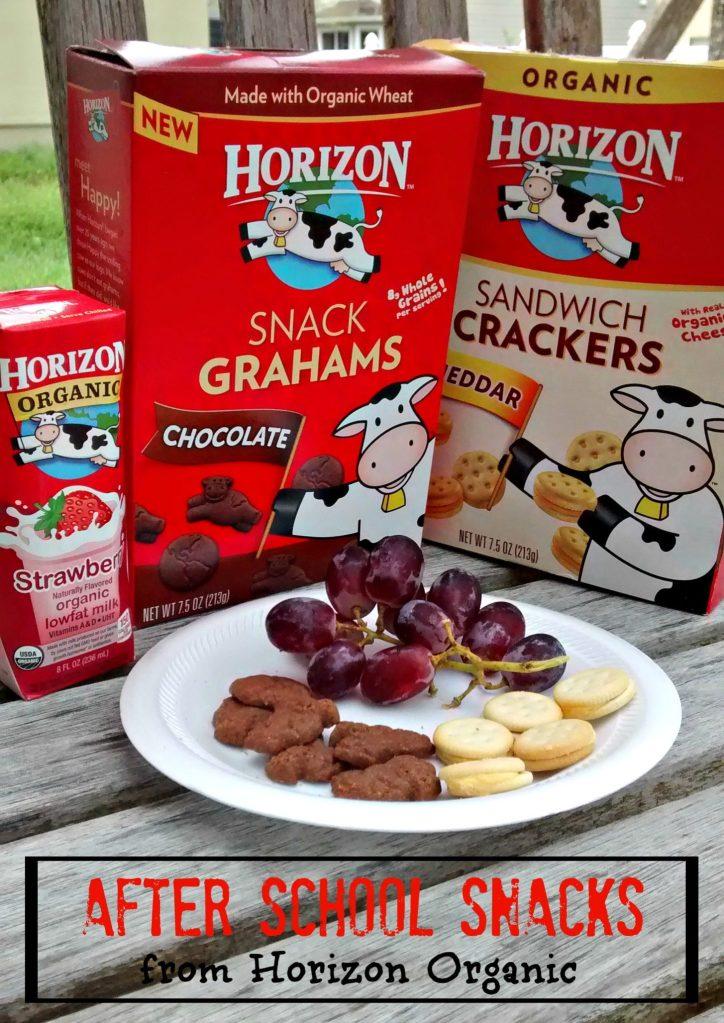 After School Snacks from Horizon Organic