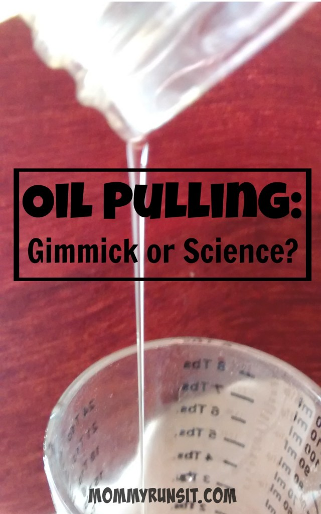 That One Time I Tried Oil Pulling (An Update, Sort Of)