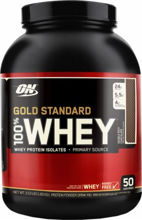 Optimum Nutrition Gold Standard Whey: Review + Giveaway {closed}