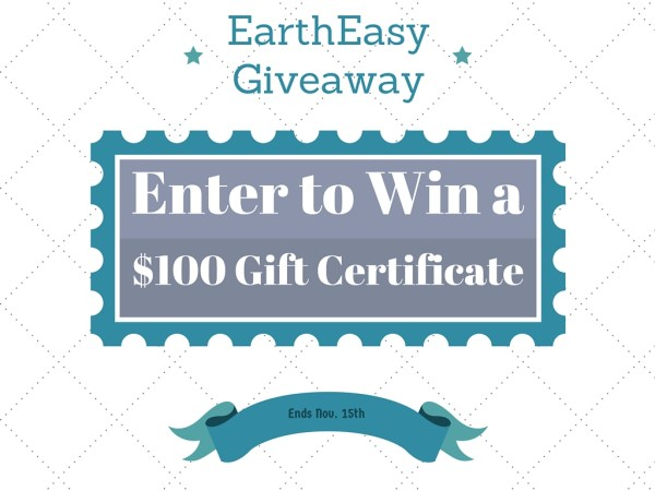 Giveaway: $100 Gift Certificate to EarthEasy #2015HGG | Mommy Runs It