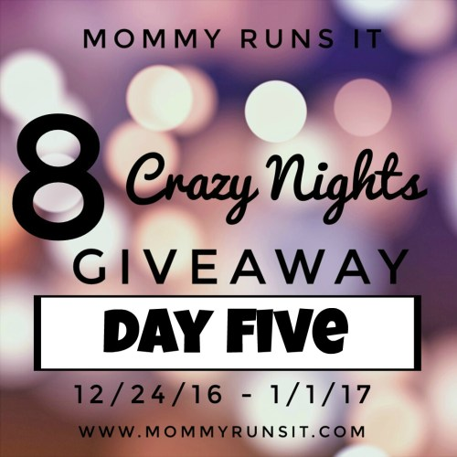 8 Crazy Nights of Giveaways: Day Five | Mommy Runs It | #8crazynightsgiveaway