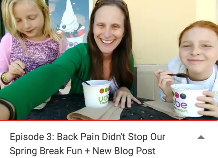 Fusion Forward: Last Week on the Vlog   Spondylolisthesis, Spinal Fusion, and more   Mommy Runs It