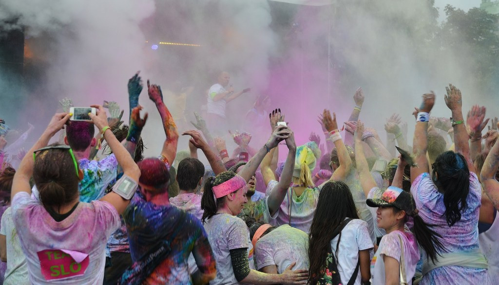 My Dad's Two Cents: Color-Fool Fun Run