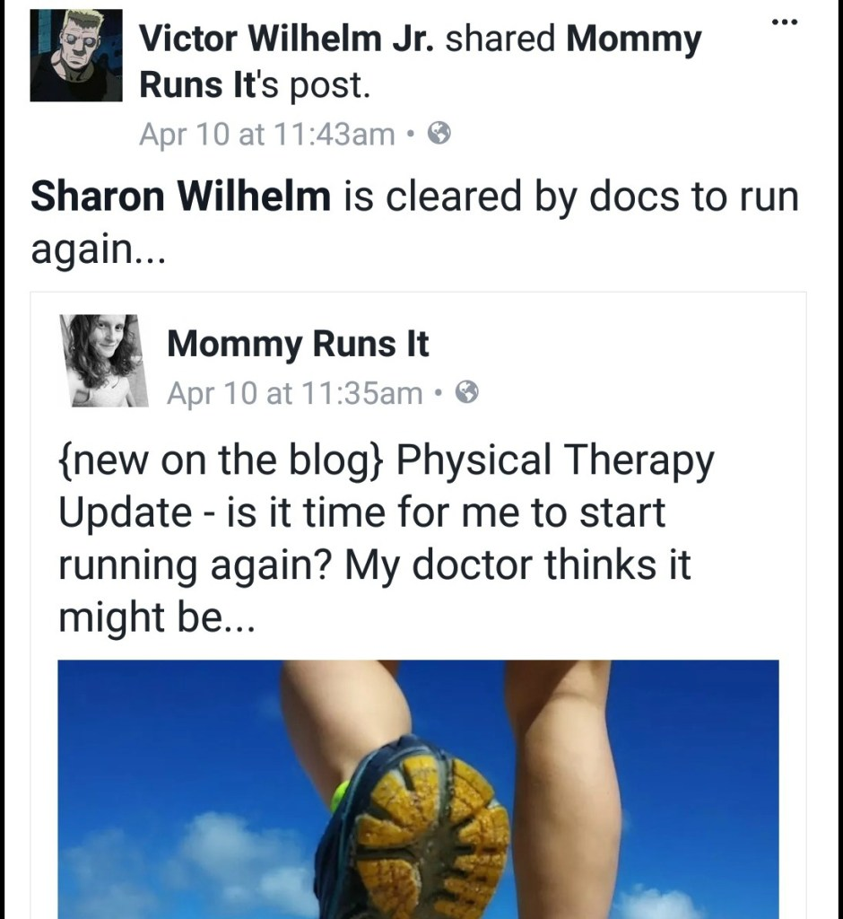 Spinal Fusion Recovery Update: Runner Not Running