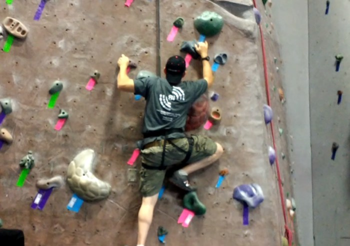 Our Indoor Rock Climbing Gym Adventure | Mommy Runs It