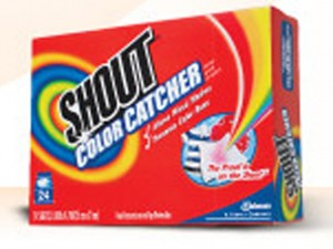 shout color catcher sample