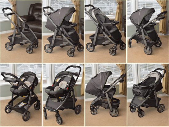 Harlow Graco Click Connect Travel System