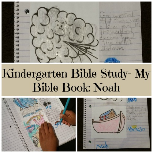Kindergarten Bible Study- My Bible Book: Noah
