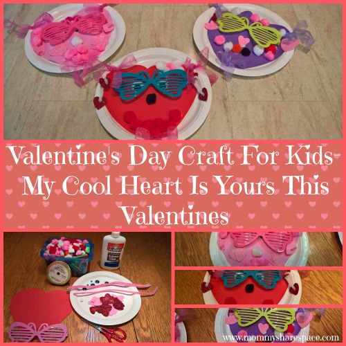 Valentine's Day Craft For Kids- My Cool Heart Is Yours This Valentines
