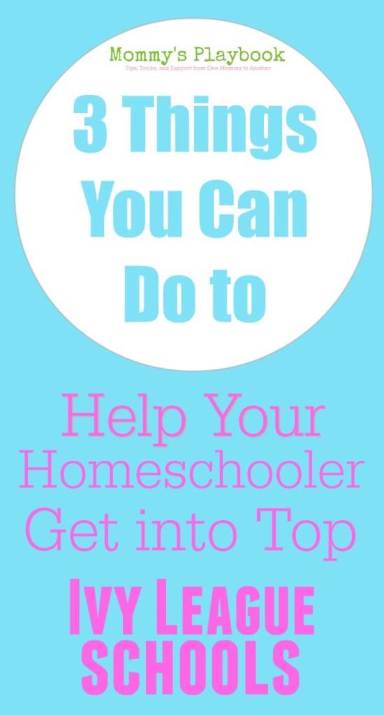How-Help-Homeschooler-Ivy-League-School
