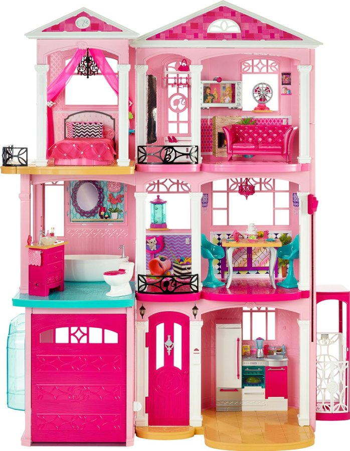 Checkout the latest Barbie Dreamhouse! #ChristmasGifts #Christmas #GirlGifts