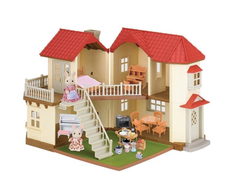 Calico Critters Luxury Townhome Gift Set #ChristmasGifts