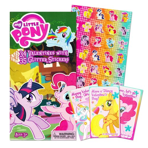 My Little Pony Deluxe Valentine's Day Card Set