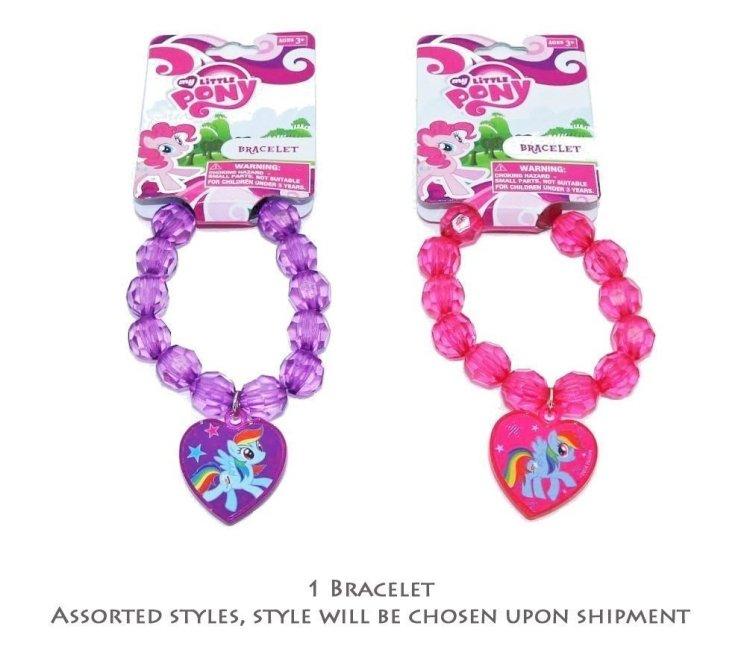 My Little Pony Heart Charm Bracelet Valentine's Day Gift