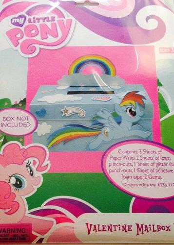 My Little Pony Valentine's Day Mailbox