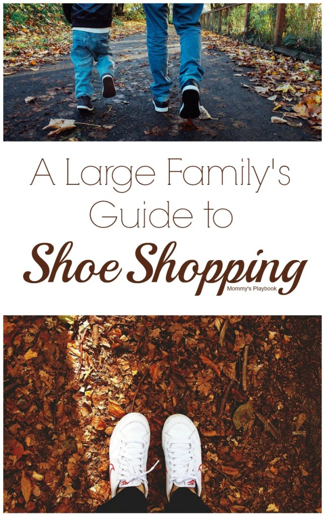 Large Family's Guide to Shoe Shopping