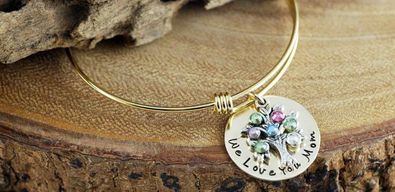 Sweet Blossoms Family Tree Bracelet