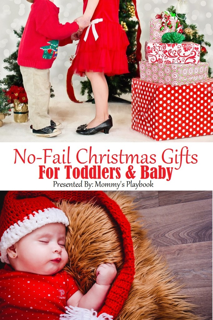 No-Fail Christmas Gifts for Toddlers and Babies! #ChristmasGifts #BabysFirst #Christmas #afflink