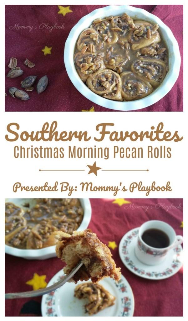 Southern Favorites Christmas Morning Pecan Rolls