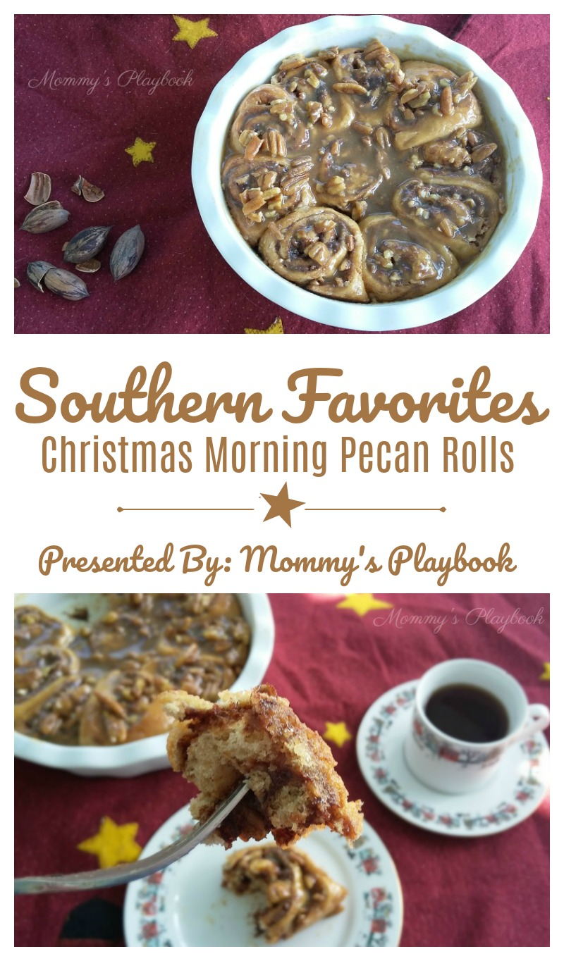 Southern Favorites Christmas Morning Pecan Rolls