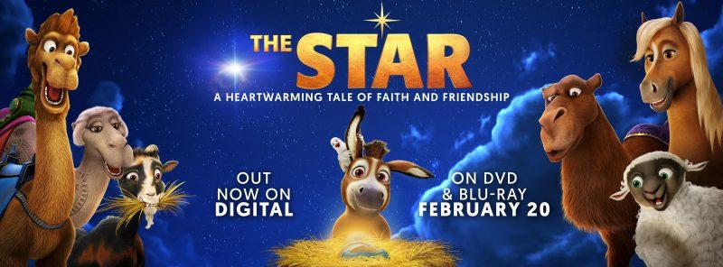 Bring Home The Star Movie on Blu-Ray + DVD + Digital #TheStarMovie #FlyBy