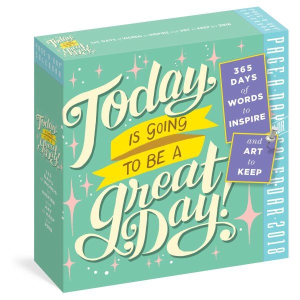 Today is Going to Be a Great Day, Page-a-Day Calendar
