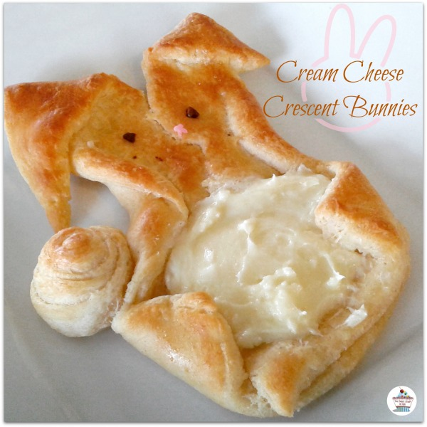 Bunny Cream Cheese Danish #Easter #EasterRecipe