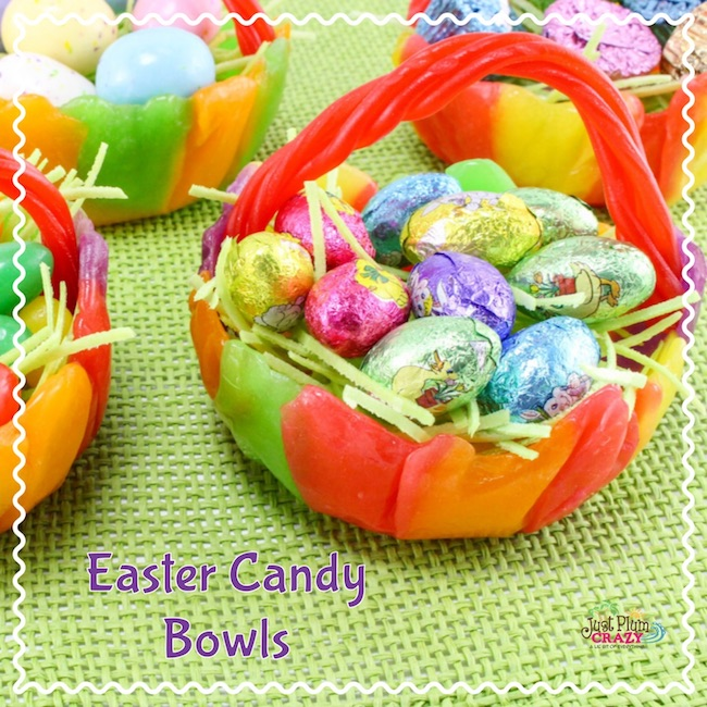 Easy Easter Candy Bowl #EasterSweetsandTreats #Easter #EasterforKids