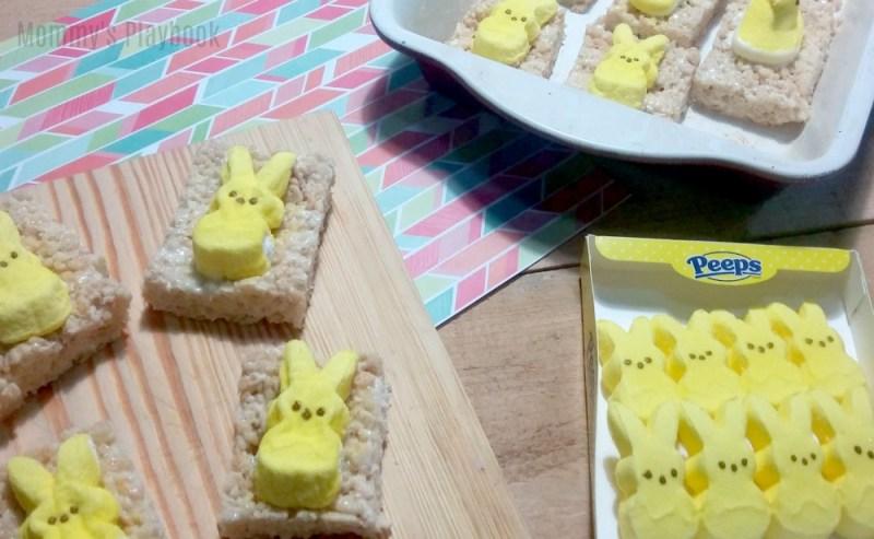How to Make Rice Krispie Treat Peeps Pops #Easter #EasterRecipes #EasterDesserts #EasterSweetsandTreats