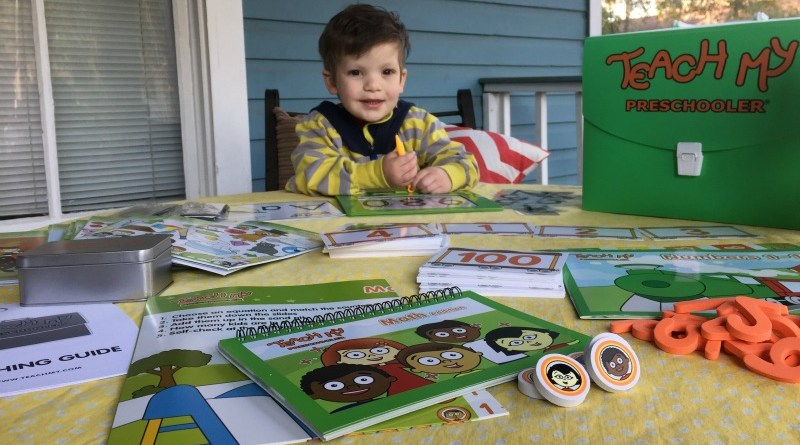 Teach My Preschooler Deluxe Learning Kit #Homeschool #Preschool #Preschooler #Curriculum #LearningKits #EduToys